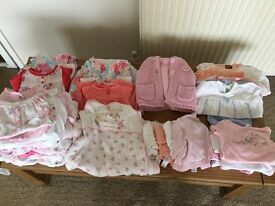 Baby bundle girls (tiny baby & first size)