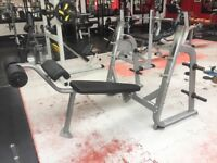 Commercial decline olympic bench