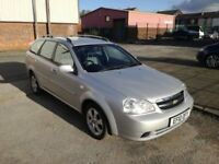 2010 (10 reg), Chevrolet Lacetti 1.8 SX 5dr Automatic Estate, £1,695 p/x welcome