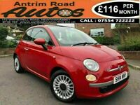2014 FIAT 500 LOUNGE 1.2 ** FULL SERVICE HISTORY ** FINANCE AVAILABLE