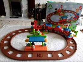 Happy land train set all complete with box