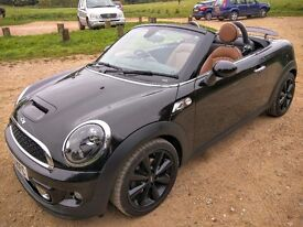 MINI Roadster 2.0 TD Cooper SD Convertible, 2013 (63), FSH, MOT September 2017, 33000 Miles