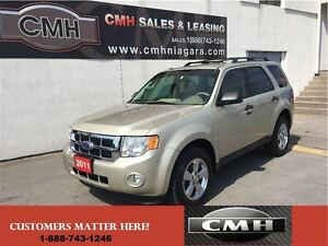 2011 Ford Escape XLT V6 ALLOYS  *CERTIFIED*