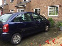 citroen xsara picasso. 2006 reg, m.o.t. till march 2019, good family car in good condition. £550