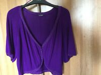Ladies Planet shrug cardigan size 16