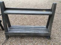 Display Bench (Indoors or Out)