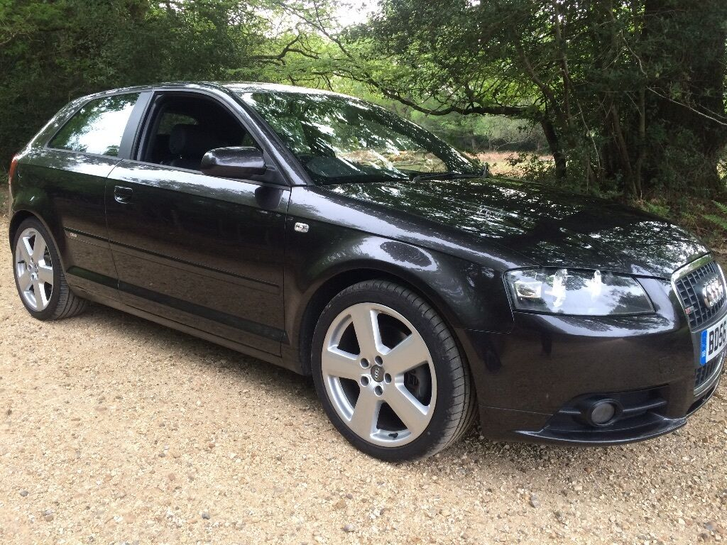 2006 audi a3 s line tfsi grey 2 0t turbo 3dr special. Black Bedroom Furniture Sets. Home Design Ideas