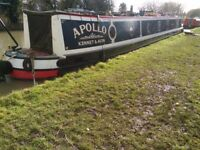 For sale, 60 ft J&G Reeves Narrowboat, Semi trad, Lister engine