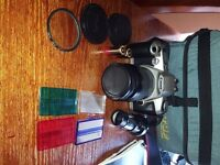 Canon EOS 500n SLR Film Camera, Case £50.