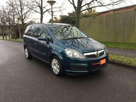 2007 57 Vauxhall Zafira 1.6 Petrol, Only 97,000 Miles, Just serviced, New clutch. No