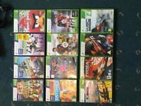 Xbox 360+Kinect+Headphones+Games