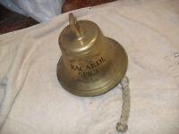 solid brass bar bell