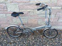 Bickerton Portable Folding Bike Aluminium Vintage Classic