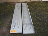 IFOR WILLIAMS 8 FT 3,000 Kg TRAILER RAMPS Supplied By Alan Tuer Carlisle Agent