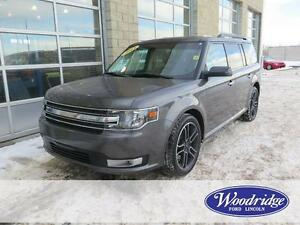 2015 Ford Flex SEL 3.5L V6, AWD, LEATHER, REMOTE START