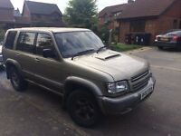 Isuzu Trooper 3.0 TD Citation LWB 7 seater Auto - Spares or Repairs - Full tank of diesel
