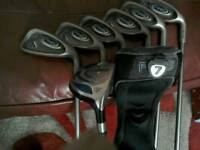 Ping g5 irons and 7 wood