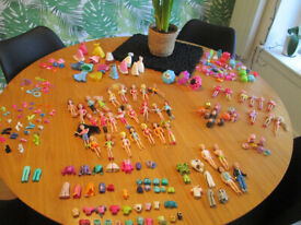 VARIOUS POLLY POCKET ITEMS - CLOTHES / ACCESSORIES, ETC. - FROM £1.50