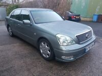 LEXUS LS 4.3 V8 GAS CONVERTED-DOUBLE GLAZING-MASSAGE SEATS-XENONS-BLINDS-
