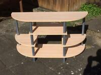 Curved Front Entertainment Unit/TV Stand