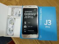 Samsung Galaxy J3 PR0 16GB gold Dual Sim Unlocked smartphone