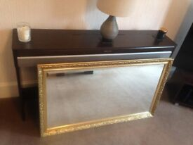 Large Ornate Gilt Mirror