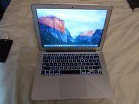 """Apple MacBook Air,13.3"""",Intel i5 1.8 Ghz,4GB,128gb.SSD.HD,OS X 10.11 El Capitan,A1466,2012;"""