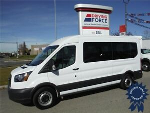 2015 Ford Transit Van - 12 Passenger- Midroof - 3.5L EcoBoost