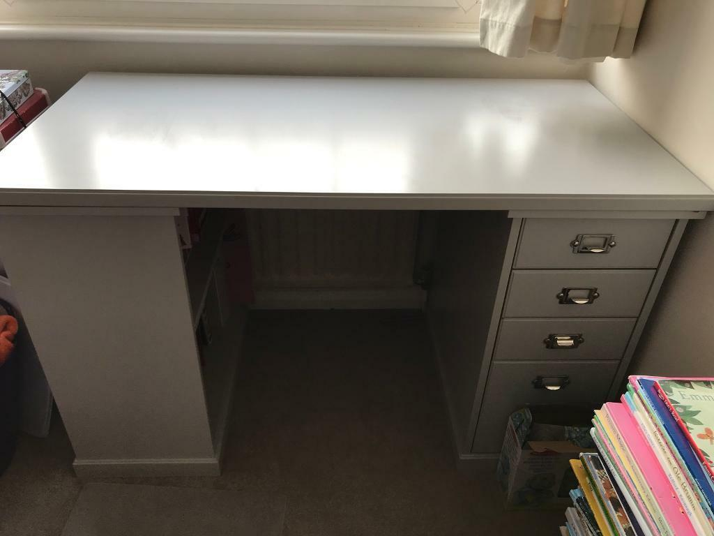 Ikea Light Grey Klimpen Desk In Wimbledon London Gumtree