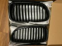 BMW 5 series M Sport Black Kidney Grill Genuine F10 F11