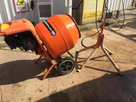 Belle petrol cement mixer and stand