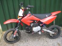 demon x racing 140 pit bike lots upgrades