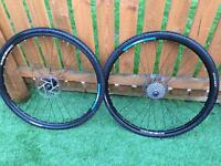Ritchey OCR 700cc wheels with brake discs and cassette