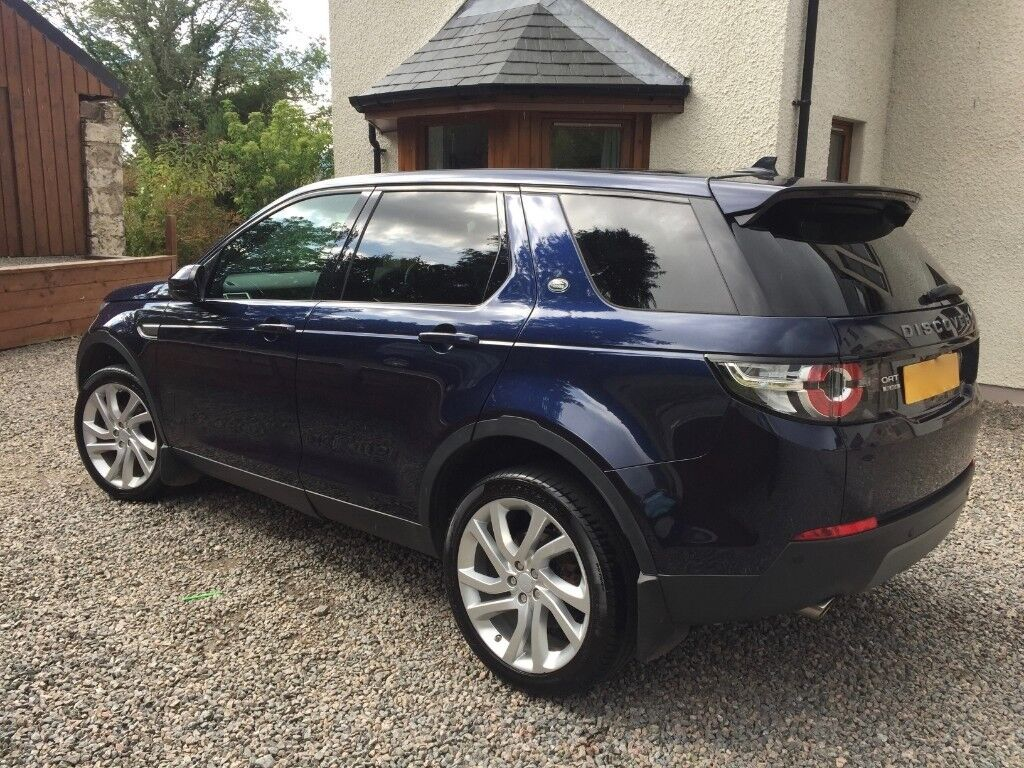 Land Rover Discovery Sport 2 2d Sd4 Se Tech 5 Dr 7 Seats