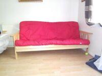 2 Seater futon sofa bed from Argos
