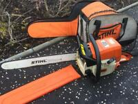 Stihl ms039 chainsaw with 20 inch bar