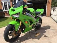 Zx6r zx636 bh1 Kawasaki low mileage immaculate condition