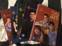Dvd box set - cheap - 2 and a half men, £3 each!