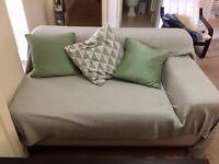 Light grey small sofa