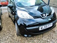 2005 Peugeot 107 998 cc petrol automatic only 70.000 miles 2 owners full service history full MOT