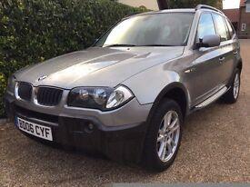 BMW X3 2.0L Diesel SE - 2006 ( 06 Plate) - Metallic Grey 4x4