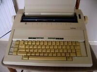 Brother AX15 electric typewriter