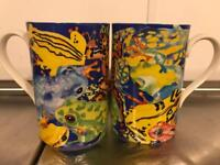2 Dunoon Frog mugs - ideal Christmas gift