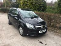 VAUXHALL ZAFIRA 1.6 NATIONWIDE DELIVERY WARRANTY & CARD PAYMENT FACILITY