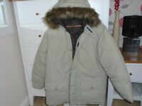LADIES RACING GREEN WINTER JACKET