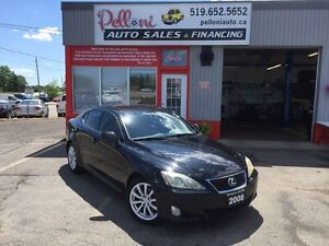 2008 Lexus IS 250 V6+LEATHER+ROOF