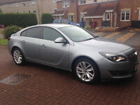 VAUXHALL INSIGNIA 63 PLATE 2 LITRE DIESEL SRI CDTI ECOFLEX FOR SALE ONLY 14900 MILES