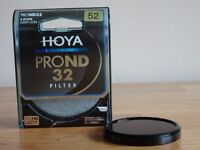 Neutral Density Camera Filter - 52mm Hoya ND32 5-stop