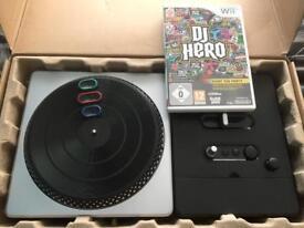 DJ Hero Wii set