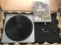 DJ Hero Wii set